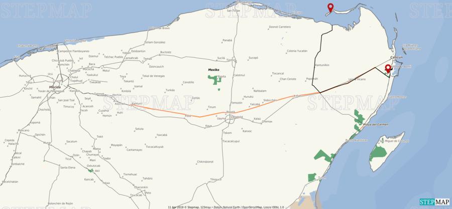Landkarte: Mex.1