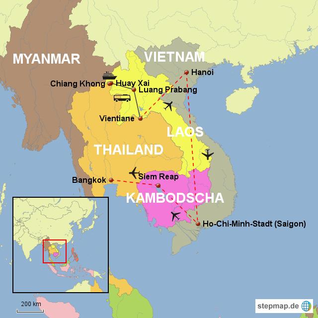 Miriam Und Ingmar On Tour (Laos, Vietnam, Kambodscha) Von