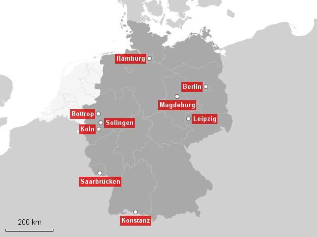 mobil top tank klau st dte deutschlands von landkarte f r deutschland. Black Bedroom Furniture Sets. Home Design Ideas