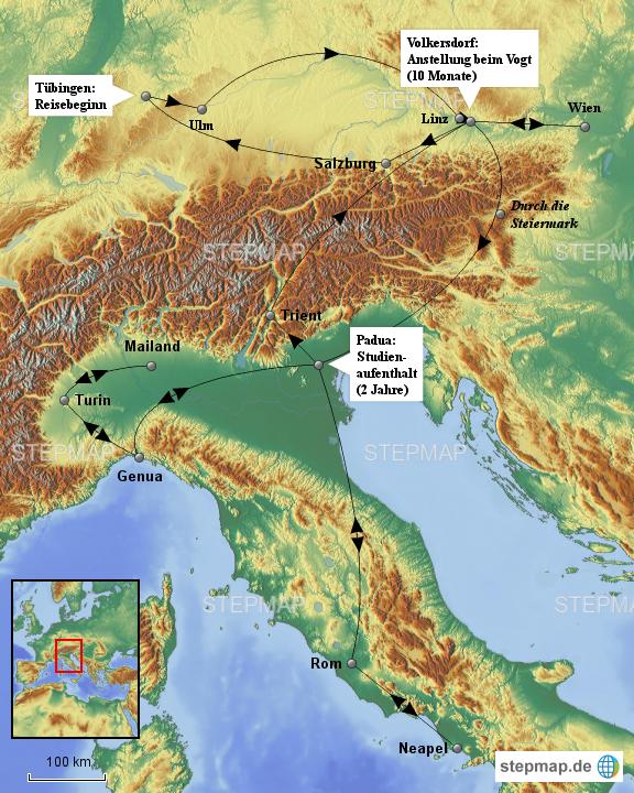 landkarte deutschland österreich italien Mohrads Deutschland Österreich Italien Reise von SamEwe