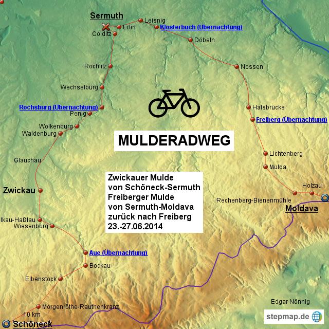 mulderadweg karte Mulderadweg Karte | jooptimmer mulderadweg karte