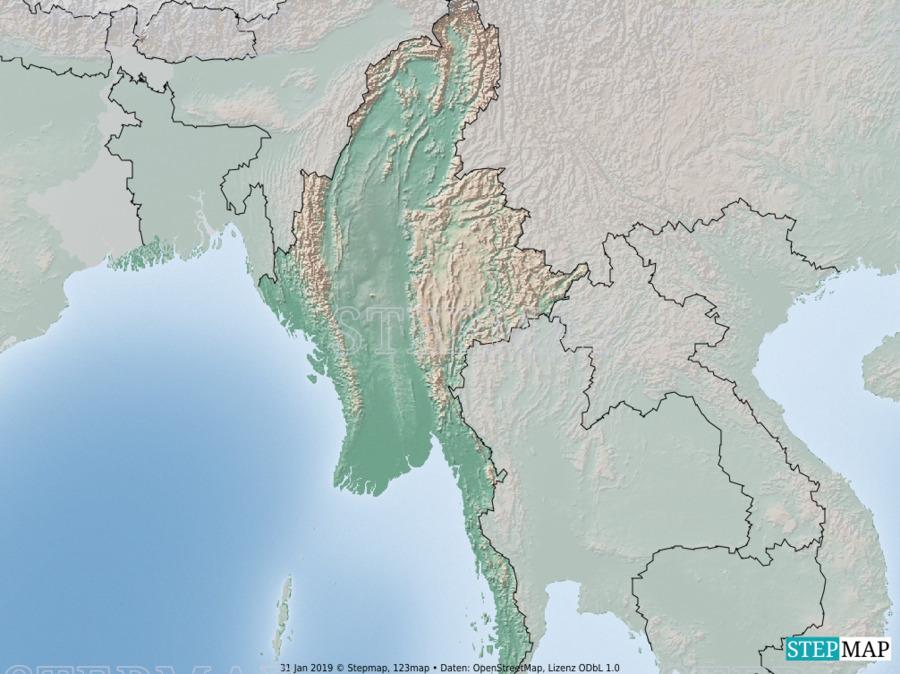 Landkarte: Myanmar_02