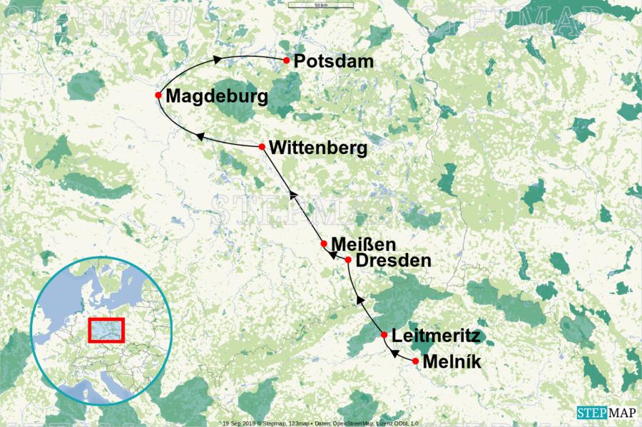 Landkarte: NC-MOEL