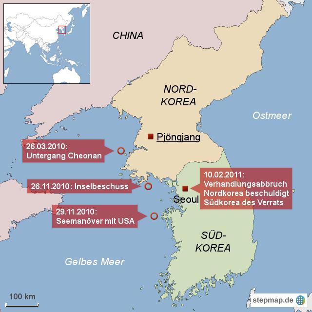 Nord Und Südkorea
