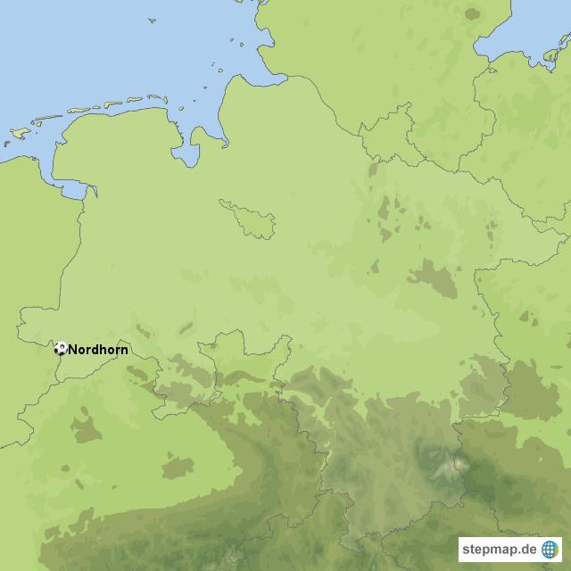 Nordhorn Von Woerthuis Landkarte Fur Niedersachsen