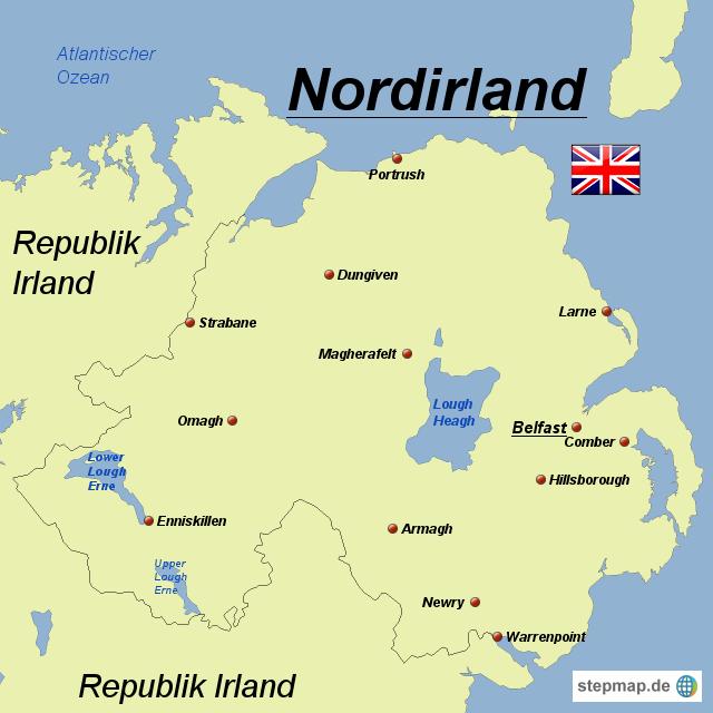 einwohnerzahl nordirland