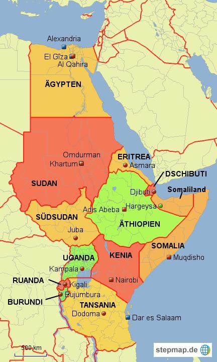 Nordostafrika