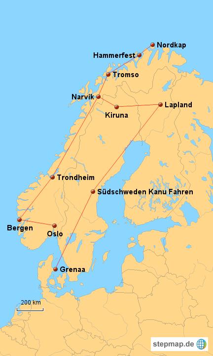 Karte Norwegen Dänemark.Norwegen Schweden Dänemark Von Nadinem Landkarte Für Deutschland