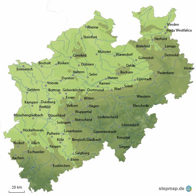 Klempner Düsseldorf nrw stadt ksta landkarte für nordrhein westfalen