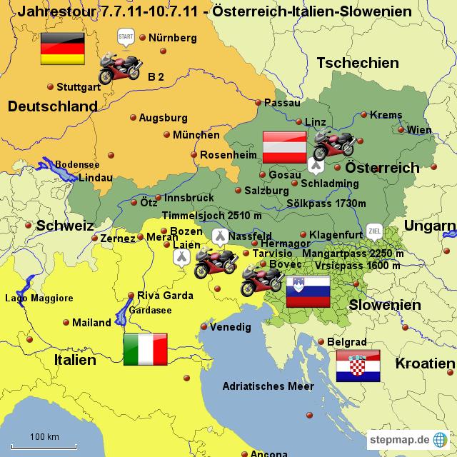 Karte Deutschland österreich Italien | mismis
