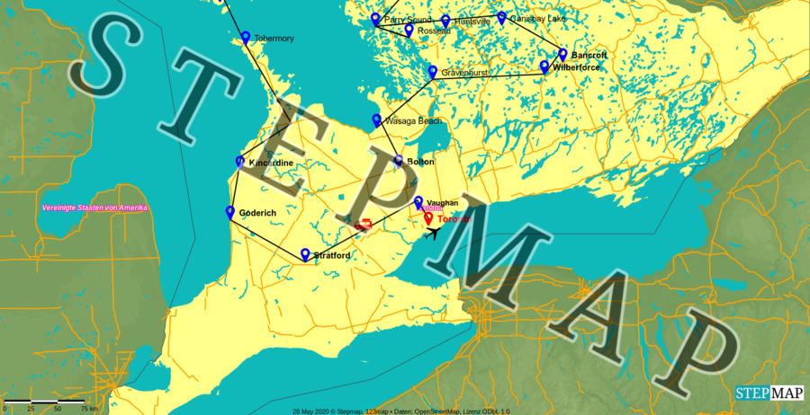 Landkarte: Ontario 2
