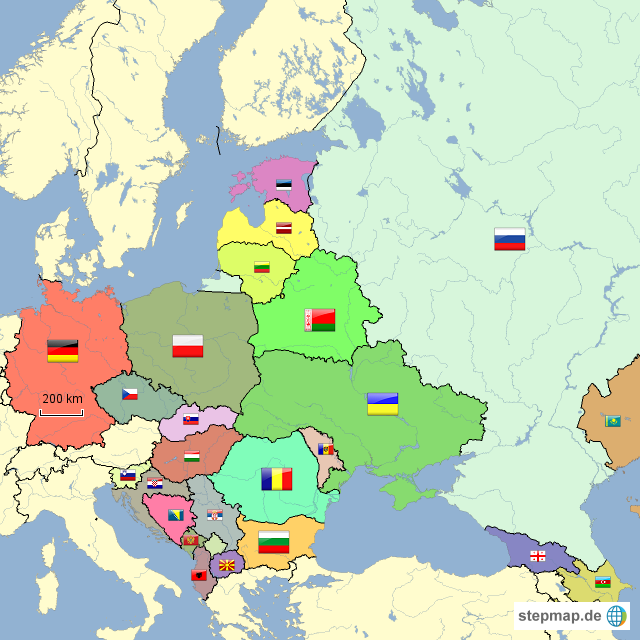 Online dating osteuropa landkarte