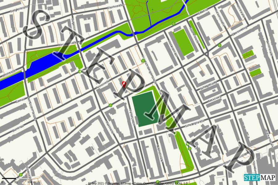Landkarte: Parkplatz