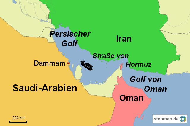 persischer golf karte StepMap   persischer golf   Landkarte für Deutschland persischer golf karte
