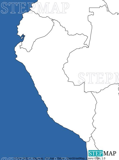 Landkarte: Peru