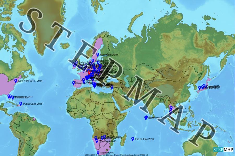 Landkarte: Philip's Welterkendung