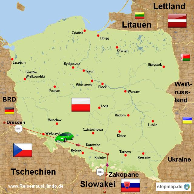 Karte Ostseeküste Polen.Landkarte Ostsee Polen Filmgroephetaccent