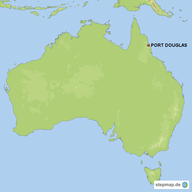 Port Douglas Karte.Stepmap Port Douglas Landkarte Fur Australien