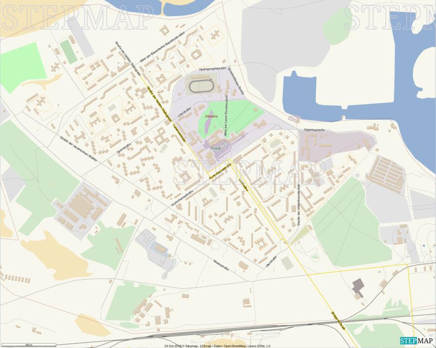 Landkarte: Pripyat