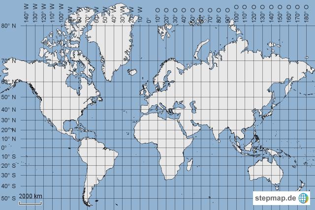 Projekt Weltkarte Hagenschule Karte III von aflieger   Landkarte