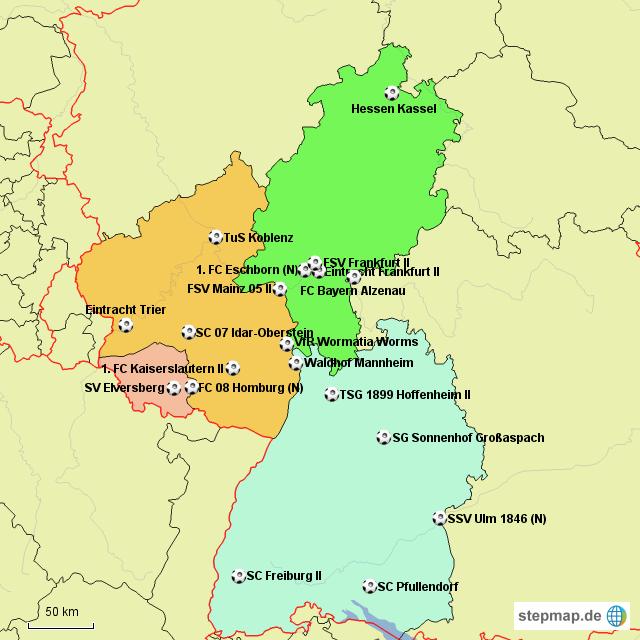 www regionalliga südwest