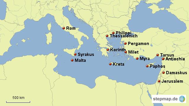 Reisen des Paulus