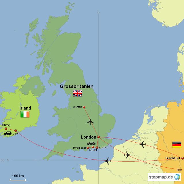 england und irland reisen