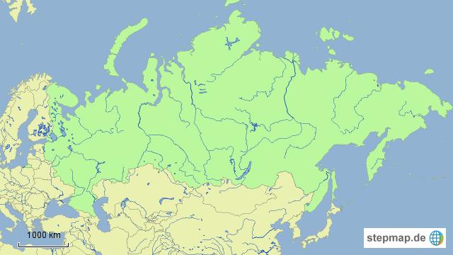 Flüsse Russland