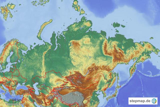 topographie südamerika