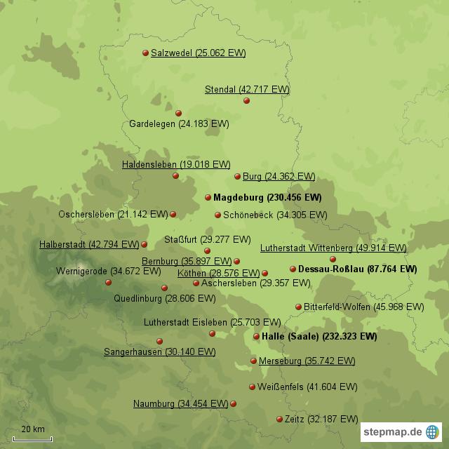 einwohnerzahlen deutsche städte