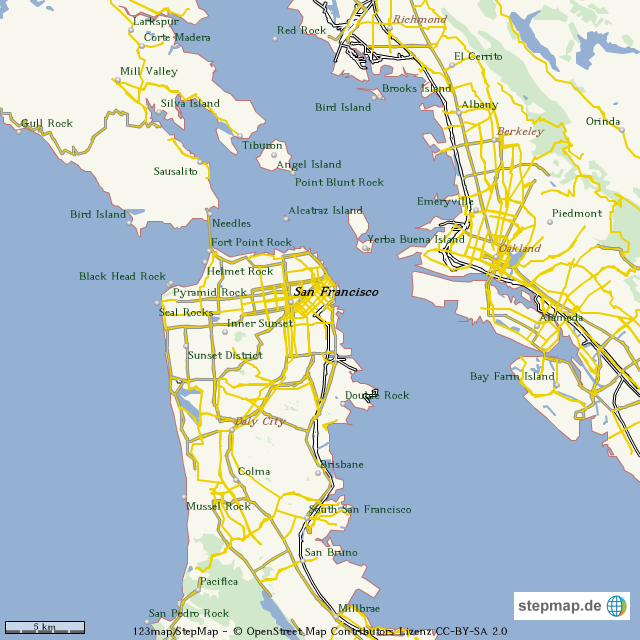 map de california with San Francisco 1179833 on  together with Golden Gate Bridge also Ghaa co also Mapa Costa Oeste Usa likewise San Francisco 1179833.