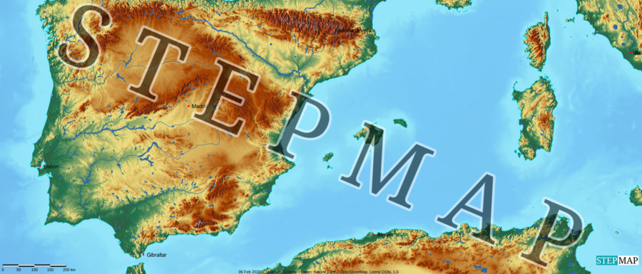 Landkarte: San Marino