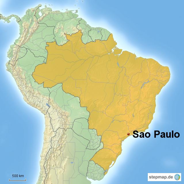 sao paulo karte Mega City Sao Paulo by Laura Fricke on Prezi