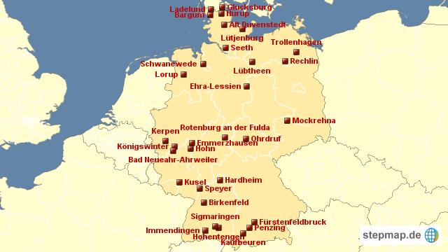 Schlie Ung Bundeswehr Standorte Von Focus Landkarte F R