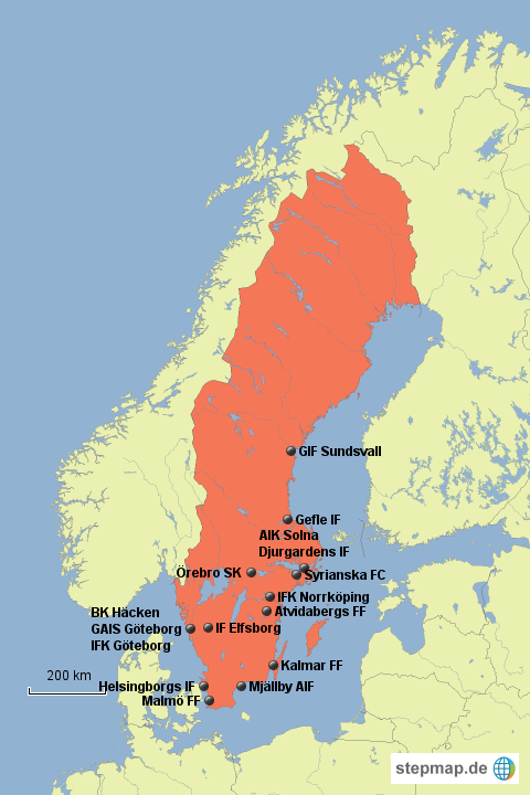 schweden liga