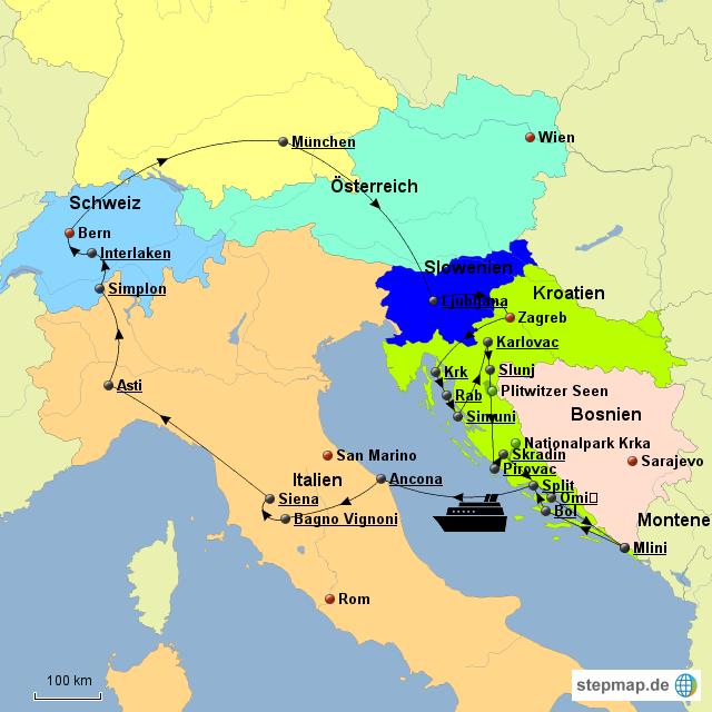 Slowenien Und Slowakei