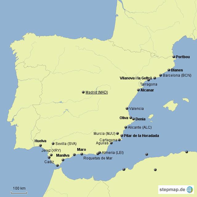 Spanier kennenlernen