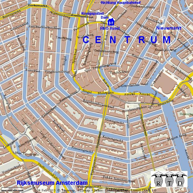 Stadtplan Amsterdam Centrum Von Tdrosdol Landkarte F R