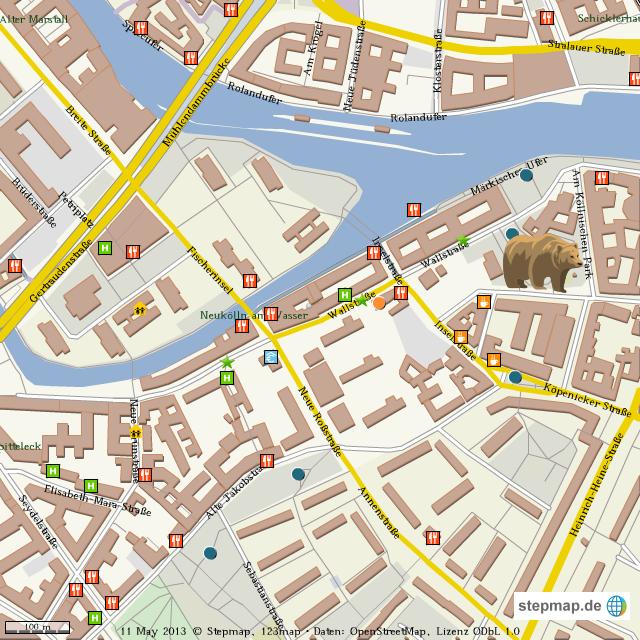 Stadtplan Bärenzwinger von olga59 - Landkarte für die Welt