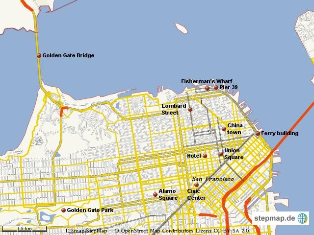 stadtplan san francisco von anne315 landkarte f r die welt. Black Bedroom Furniture Sets. Home Design Ideas