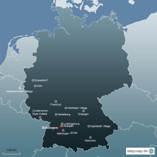 Standorte Deutschland Von Kleinerbond Landkarte F R