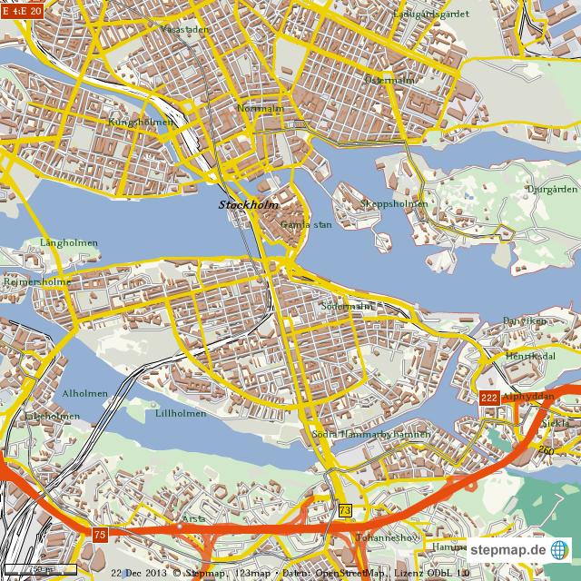 porr hd stockholm city karta