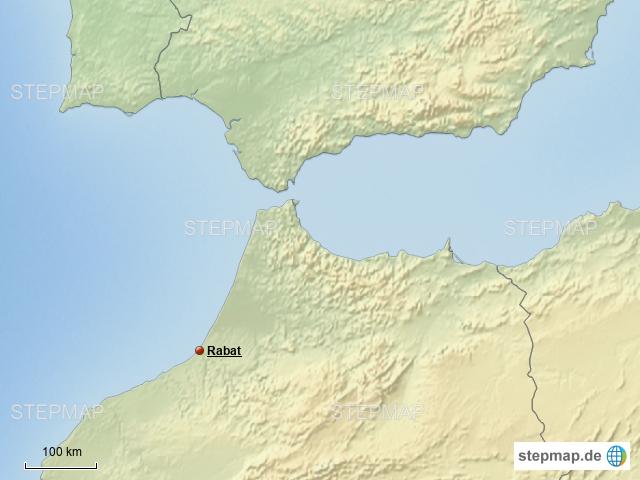 Meerenge Von Gibraltar Karte.Strasse Von Gibraltar Von Marc12345 Landkarte Fur Deutschland