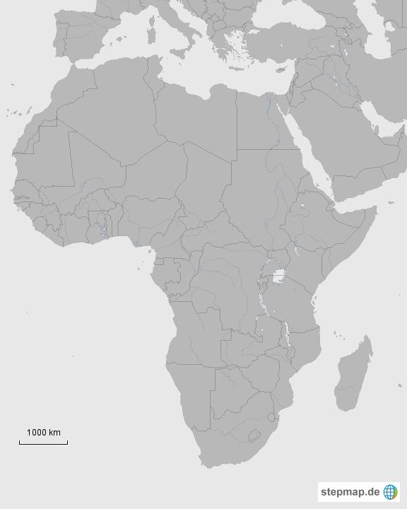 Stumme Karte Afrika.Stepmap Stumme Karte Afrika Landkarte Fur Afrika