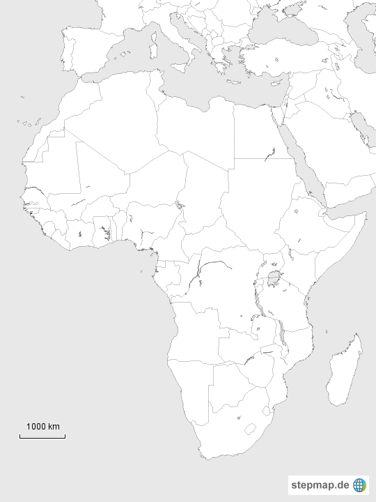 topographie afrika test