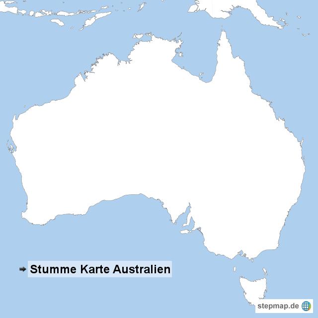 australien stumme karte goudenelftal. Black Bedroom Furniture Sets. Home Design Ideas