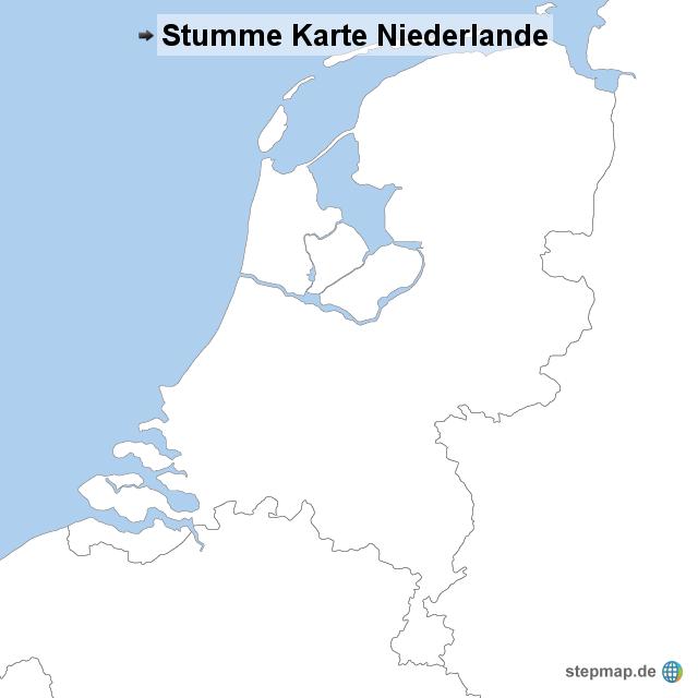 stumme karte niederlande von stumme karte landkarte f r die niederlande. Black Bedroom Furniture Sets. Home Design Ideas