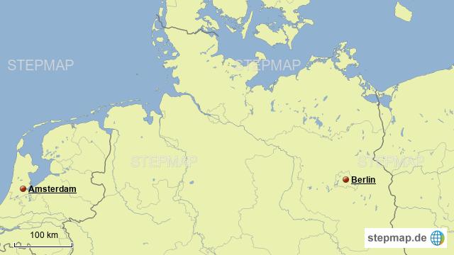 Norddeutschlandkarte