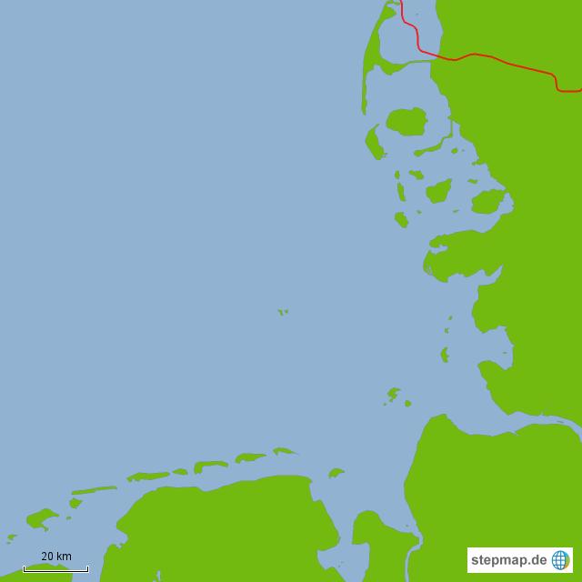 Karte Nordseeküste Niedersachsen.Stumme Karte Nordsee Von Nessie1998 Landkarte Für Niedersachsen
