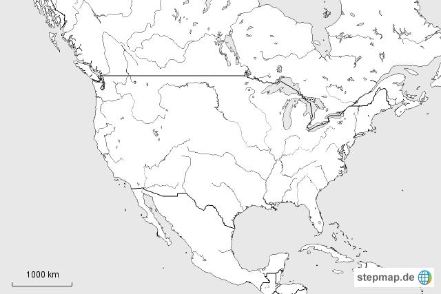 stumme karte usa Stumme Karte USA von Nachnahme007   Landkarte für die USA